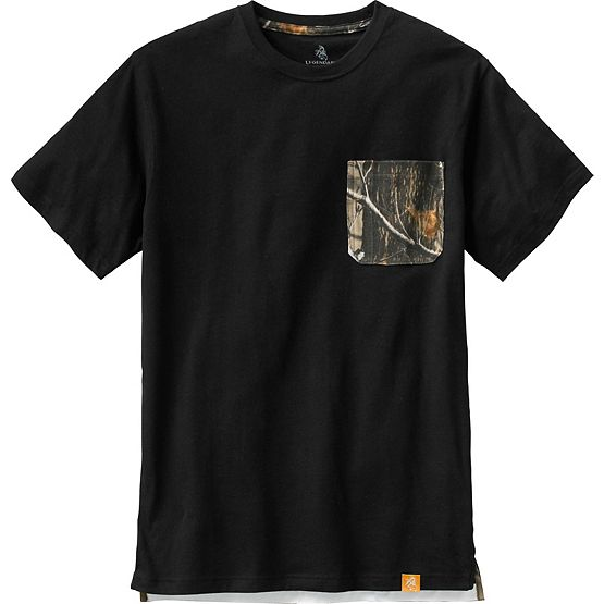 Men's Huntsman Camo Pocket Workwear T-Shirt at Legendary Whitetails