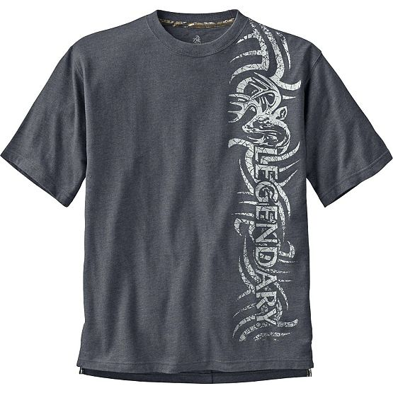 Men's Tribal Buck Short Sleeve T-Shirt at Legendary Whitetails