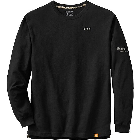 Men's Be Still Long Sleeve T-Shirt at Legendary Whitetails