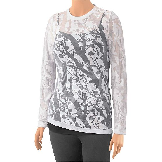 Women's Big Game Camo Burnout Shirt at Legendary Whitetails
