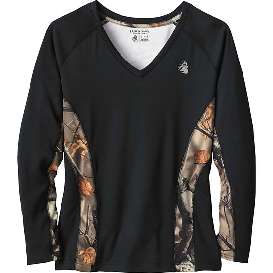 Women's Ambition Big Game Camo Performance T-Shirt at Legendary Whitetails