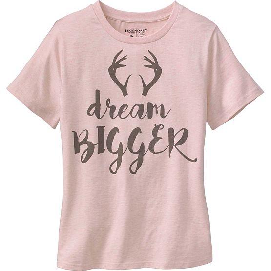 Ladies Huntin' Wish List Short Sleeve T-Shirt at Legendary Whitetails