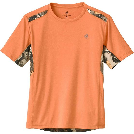 Men's Big Game Camo Vapor Performance T-Shirt at Legendary Whitetails