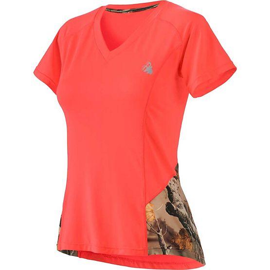 Ladies Sunrise Performance Short Sleeve T-Shirt at Legendary Whitetails