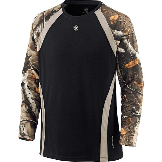 Men's Counter Strike Performance Camo T-Shirt at Legendary Whitetails