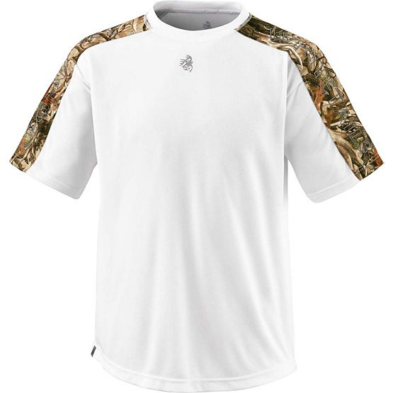 Men's Velocity Pro Performance Camo T-Shirt at Legendary Whitetails
