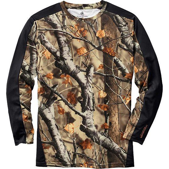 Men's Ridge Hunter Performance Camo T-Shirt at Legendary Whitetails