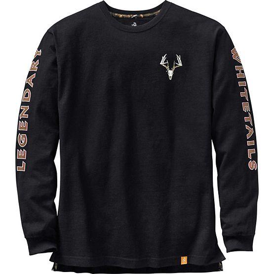 Men's Legendary Non-Typical Long Sleeve T-Shirt at Legendary Whitetails