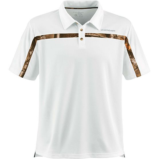 Men's Big Game Trailhead Performance Polo at Legendary Whitetails