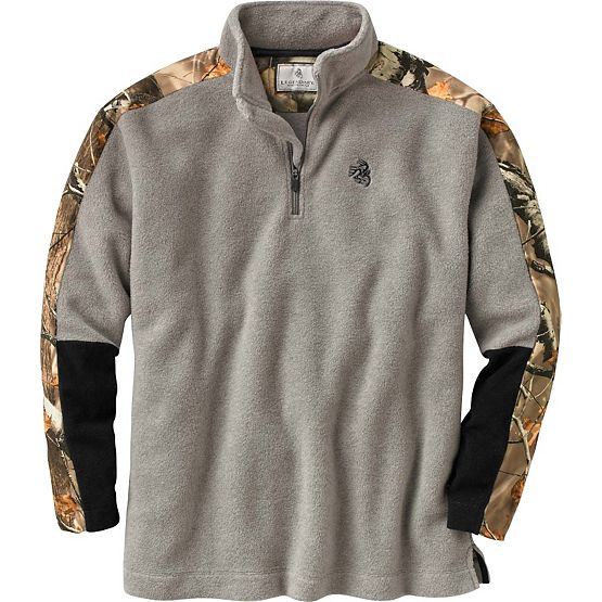 Men's Big Game Camo Tracker ¼  Zip at Legendary Whitetails