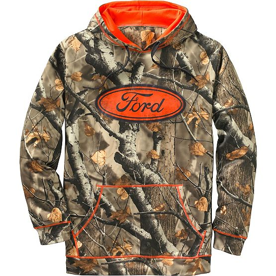 Men's Big Game Camo Mudder Hoodie at Legendary Whitetails