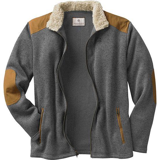 Men's Homestead Full Front Zip Sweater Fleece at Legendary Whitetails