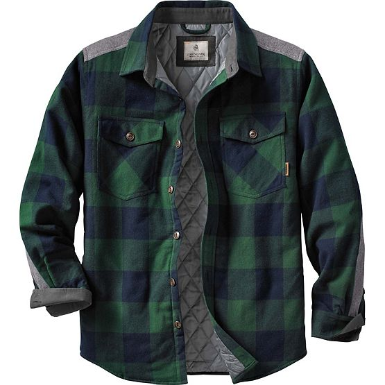 Men's Woodsman Heavyweight Flannel Shirt Jacket at Legendary Whitetails