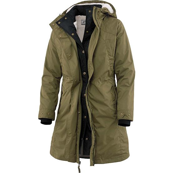 Women's 2-in-1 Battalion Olive Trench Coat at Legendary Whitetails