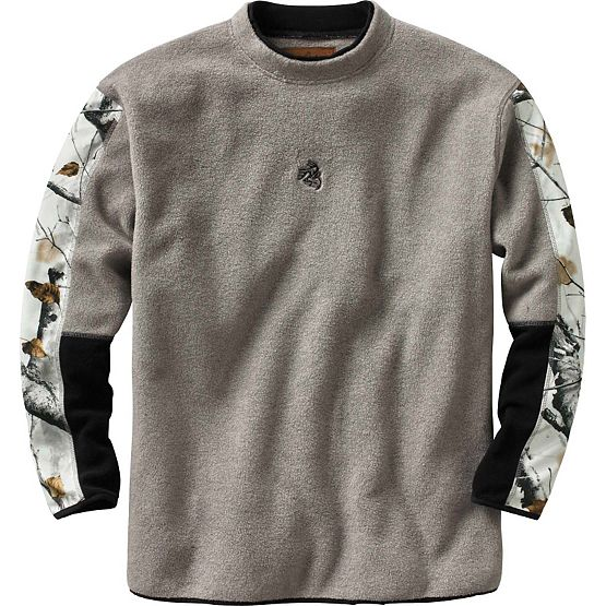 Men's Big Game Field Camo Sherpa Crew at Legendary Whitetails