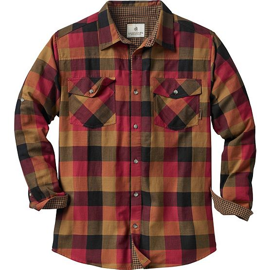 Men's Lumberyard Long Sleeve Button Down Shirt at Legendary Whitetails