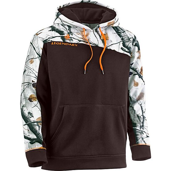 Men's Big Game Camo Snowcap Performance Hoodie at Legendary Whitetails
