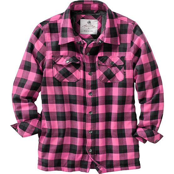 Women's Winter Cress Fleece Lined Shirt Jac at Legendary Whitetails