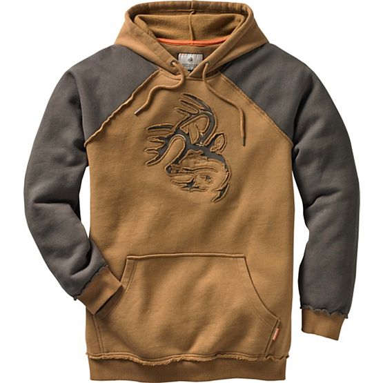 Men's Vintage Deer Camp Heavyweight Hoodie at Legendary Whitetails