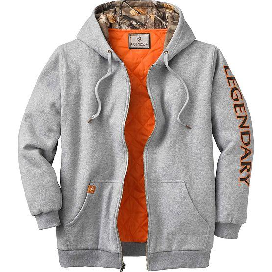 Men's Buckshot Workwear Hooded Sweatshirt Jacket at Legendary Whitetails