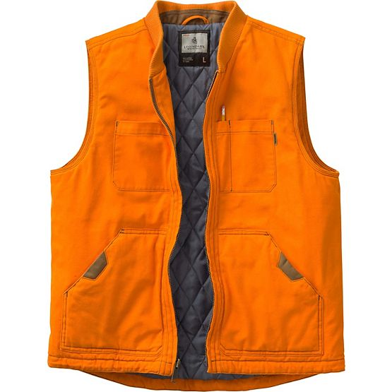 Men's  Canvas Cross Trail Vest at Legendary Whitetails