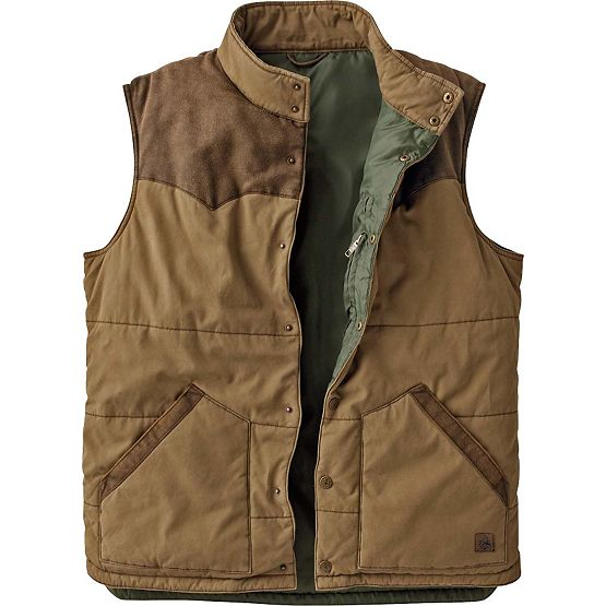Men's Longhorn Ranchers Vest at Legendary Whitetails