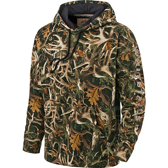 Men's Legends Camo Bolt Action Fleece Hoodie at Legendary Whitetails