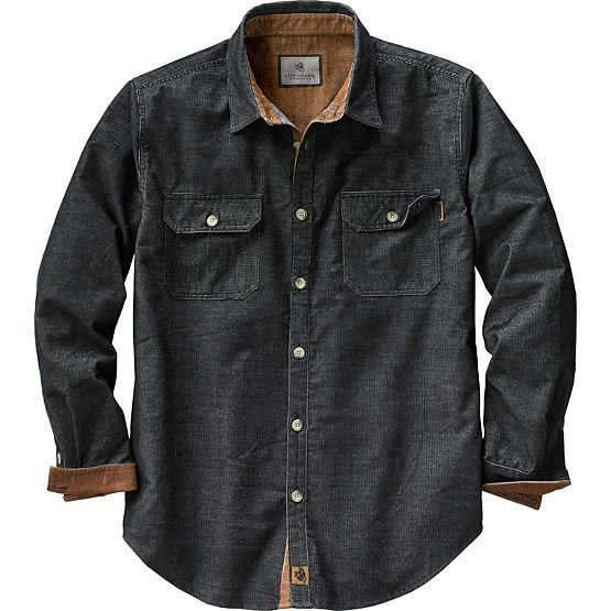 Men's Canyon Ridge Corduroy Shirt at Legendary Whitetails