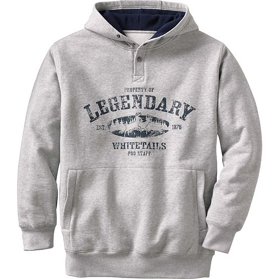 Men's Woodsman Double Layer Hoodie at Legendary Whitetails