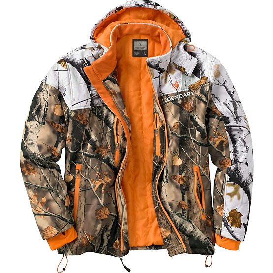 Men's Timber Line Insulated Softshell Camo Jacket at Legendary Whitetails