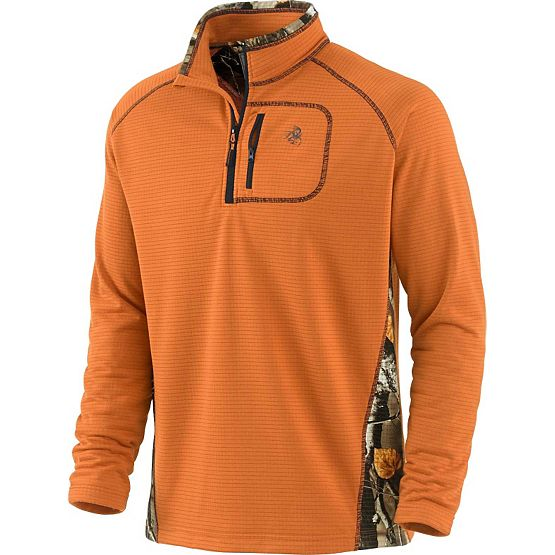 Men's Big Game Camo Boulder ¼  Zip at Legendary Whitetails