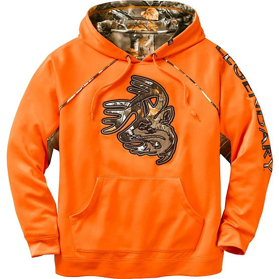 Men's Team Legendary Big Game Performance Hoodie at Legendary Whitetails