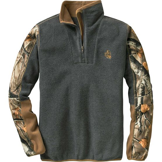 Ladies Highlander Camo Trim ¼ Zip at Legendary Whitetails