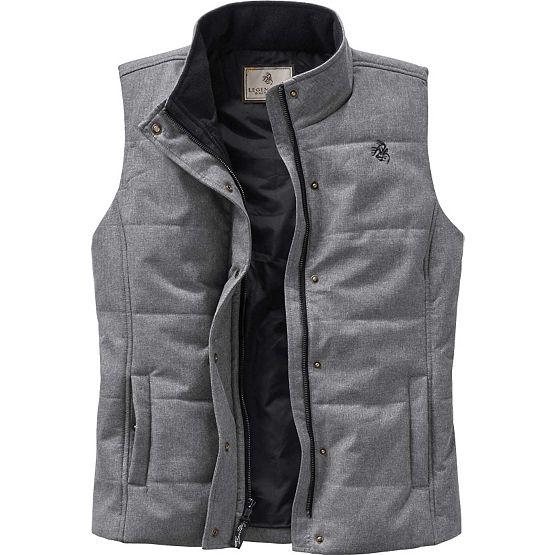 Ladies Vortex Lined Charcoal Vest at Legendary Whitetails