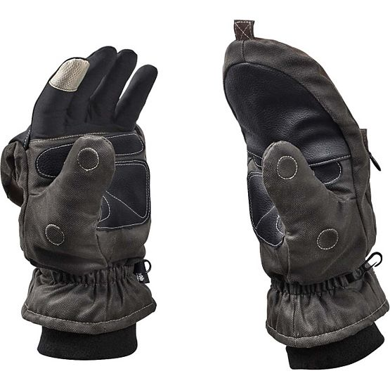Men's Arctic Tundra Pop Top Gloves at Legendary Whitetails
