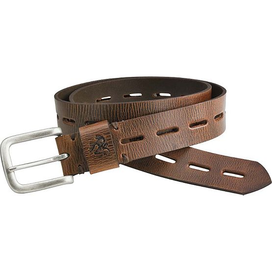 Men's Redwood Vintage Leather Belt at Legendary Whitetails