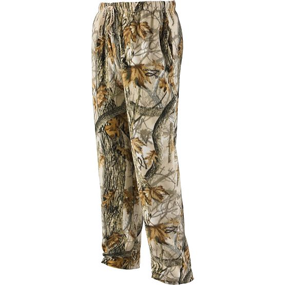 Men's Timber Antler Fleece Camo Lounge Pants at Legendary Whitetails