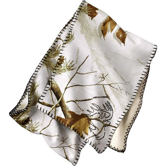 Women's Realtree AP Snow Camo Winter Scarf at Legendary Whitetails