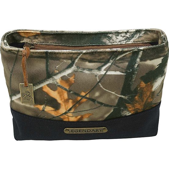 Women's Weekend Adventure Camo Cosmetic Bag at Legendary Whitetails