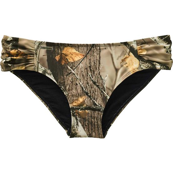 Ladies Big Game Camo Bikini Swim Bottom at Legendary Whitetails