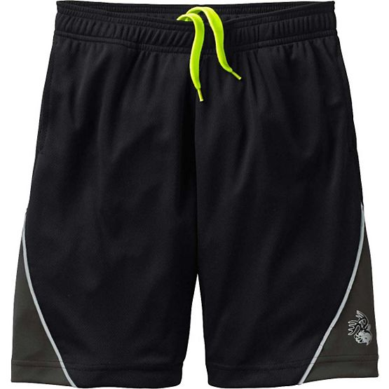 Men's Night Watcher Black Athletic Shorts at Legendary Whitetails