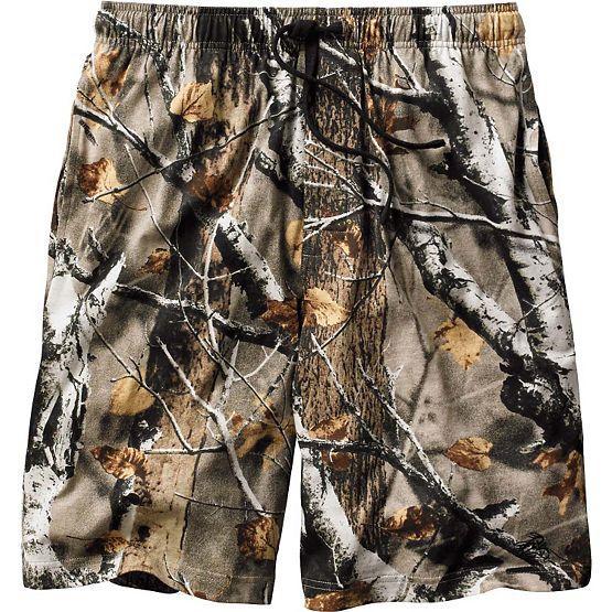 Men's Timber Antler Lounge Shorts at Legendary Whitetails