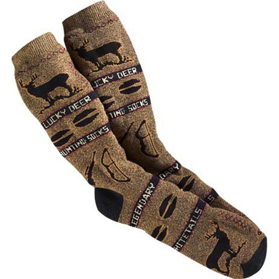 Lucky Deer Hunting Socks at Legendary Whitetails