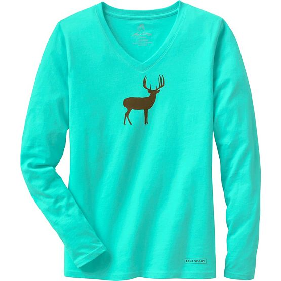 Women's Lazy Day V-Neck Lounge Top at Legendary Whitetails