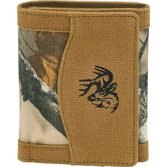 Men's High Impulse Canvas Tri-Fold Wallet at Legendary Whitetails