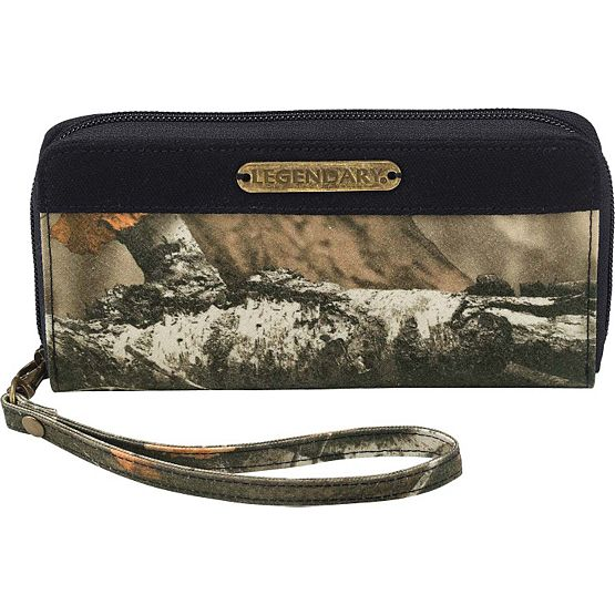 Women's Weekend Adventure Camo Wristlet at Legendary Whitetails