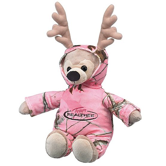 Kid's Realtree Pink Camo'd Up Deer Stuffed Animal at Legendary Whitetails