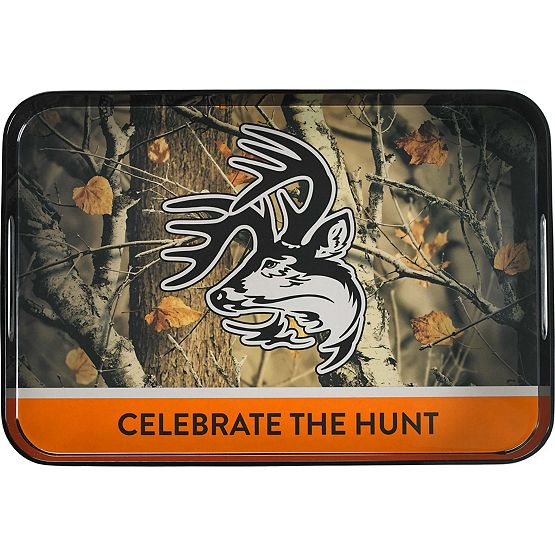 Big Game Camo Serving Tray at Legendary Whitetails