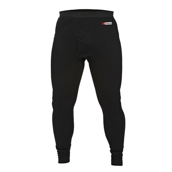 Men's X-System Lightweight Black Base Layer Pant at Legendary Whitetails