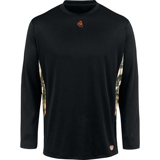 HuntGuard® Nanotec Base Layer Long Sleeve T-Shirt at Legendary Whitetails